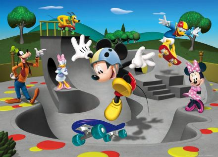 Mickey Mouse playground mural wallpaper 160x110cm
